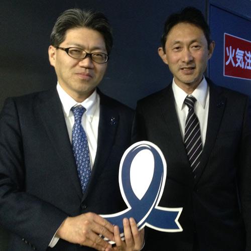 高橋孝夫先生&荒木寛司先生